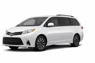 \Toyota Lease Takeover in Vancouver, BC: 2018 Toyota Sienna Limited Automatic 2WD