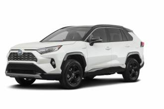 Lease Transfer Toyota Lease Takeover in North York, ON: 2019 Toyota RAV4 XSE HYBRID Automatic AWD