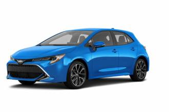 Toyota Lease Takeover in Montreal, QC: 2019 Toyota 2019 Corolla Hatchback XSE Automatic 2WD ID:#24627