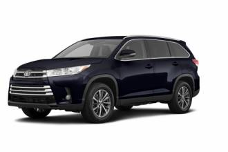 Toyota Lease Takeover in Whistler: 2019 Toyota Highlander XLE Automatic AWD ID:#28025