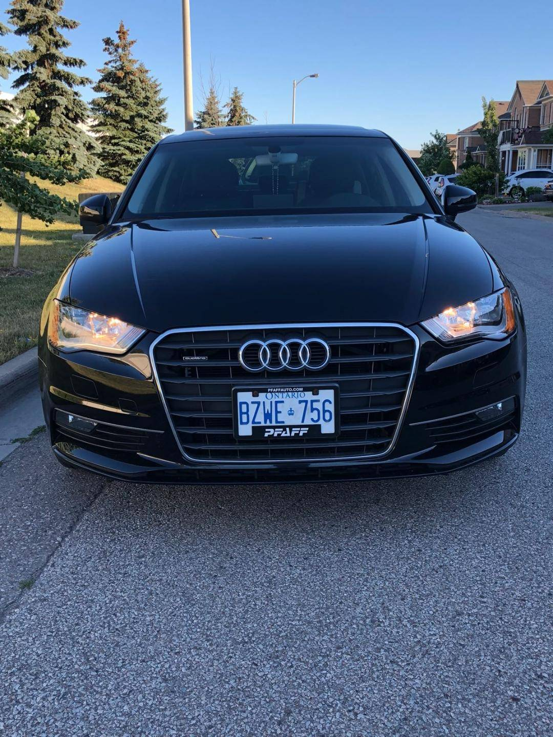 Audi Lease Takeover In Vaughan On 2016 Audi A3 2 0