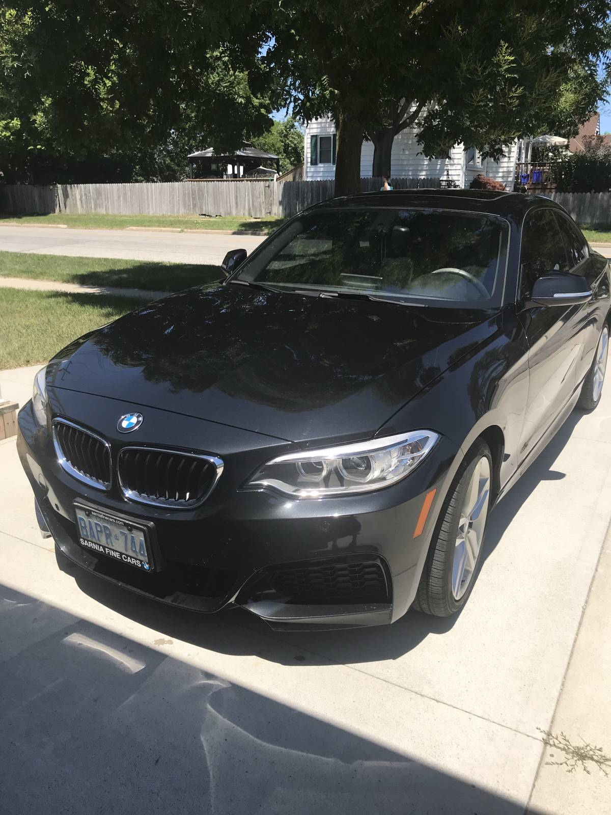 Bmw Lease Takeover In Sarnia On 2016 Bmw 228i Xdrive