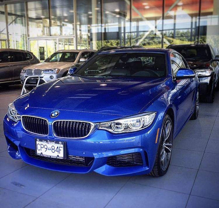 BMW Lease Takeover In Vancouver, BC: 2016 BMW 435i XDrive