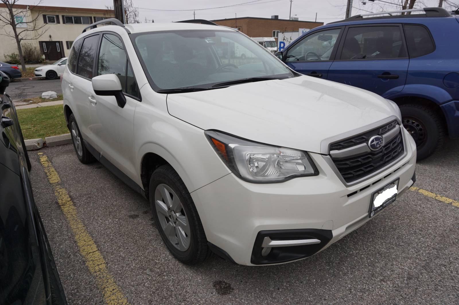 Richmond Hill Mitsubishi >> Subaru Lease Takeover in Richmond Hill, ON: 2018 Subaru Forester Convenience Automatic AWD ID ...