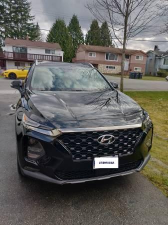 Mercedes Benz Lease Deals 0 Down >> Hyundai Lease Takeover in Surrey, BC: 2019 Hyundai Santa ...