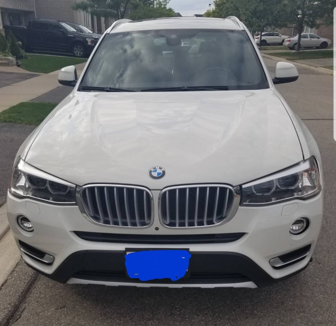 BMW Lease Takeover in Brampton, ON: 2017 BMW X3 Automatic 2WD ID:#7755 • LeaseCosts Canada